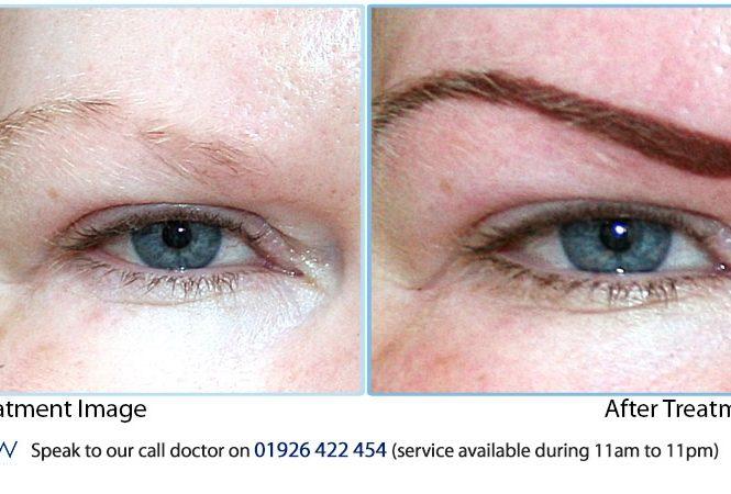 Semipermament Eyebrow Make Up Results